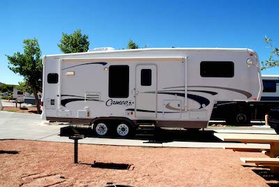 Fifth-wheel rv types