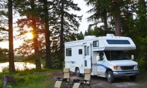 RV Camping in Motorhome